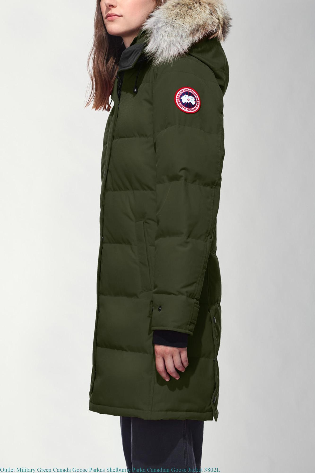 Outlet Military Green Canada Goose Parkas Shelburne Parka Canadian Goose  Jacket 3802L – Cheap Canada Goose Outlet Store Jacket Expedition Parka Sale 12768f63a