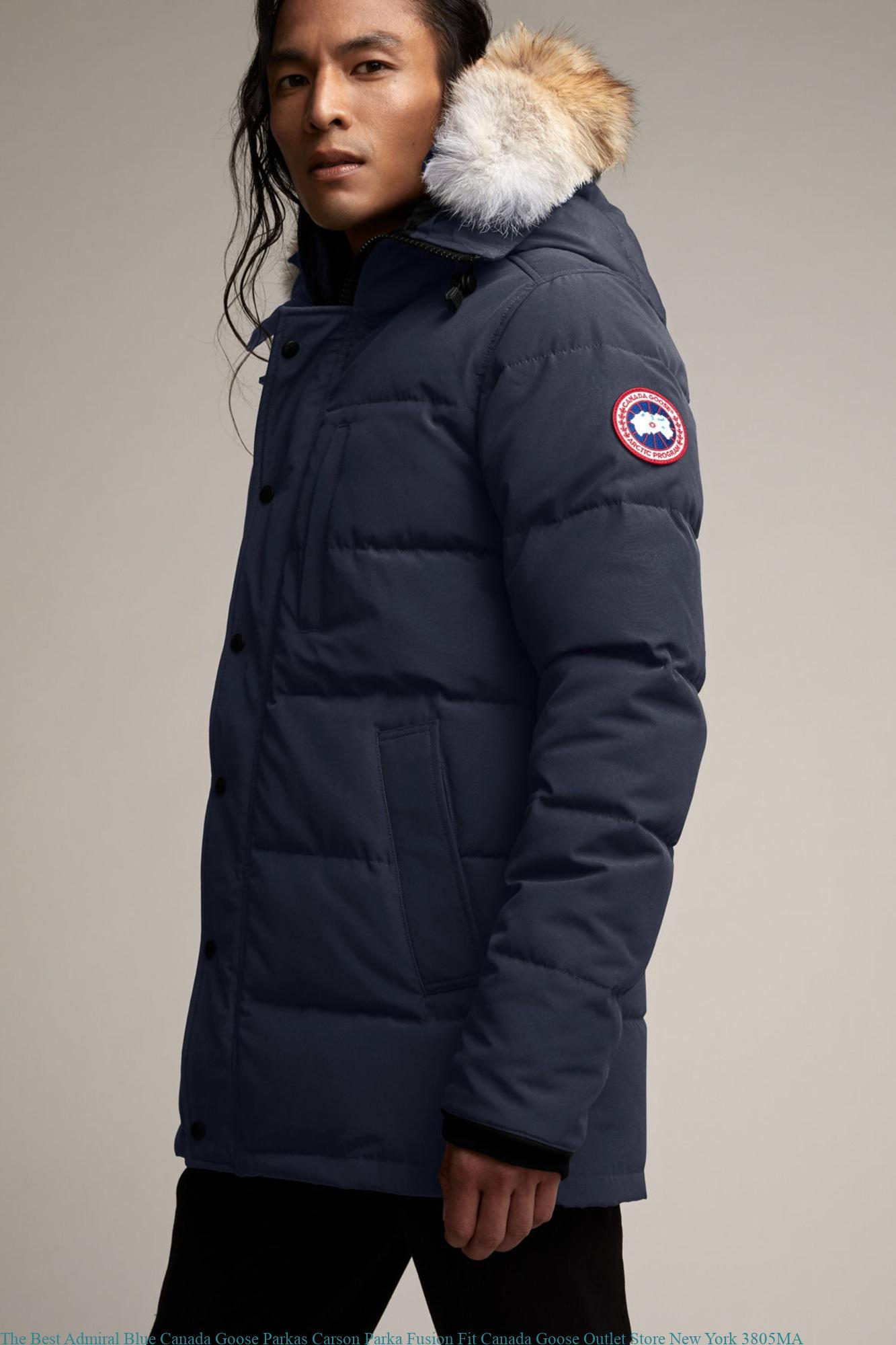 650812872 The Best Admiral Blue Canada Goose Parkas Carson Parka Fusion Fit Canada  Goose Outlet Store New York 3805MA