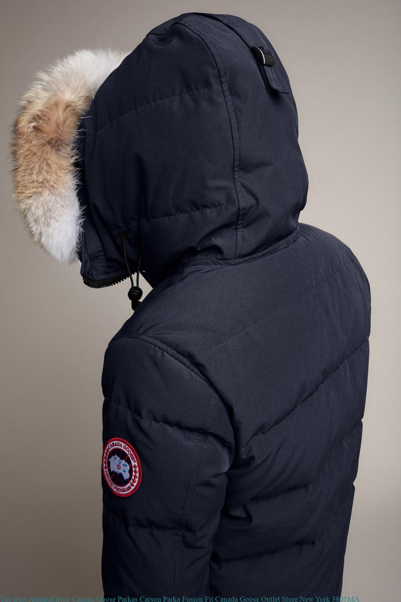 719cbc77ba4 The Best Admiral Blue Canada Goose Parkas Carson Parka Fusion Fit Canada  Goose Outlet Store New York 3805MA